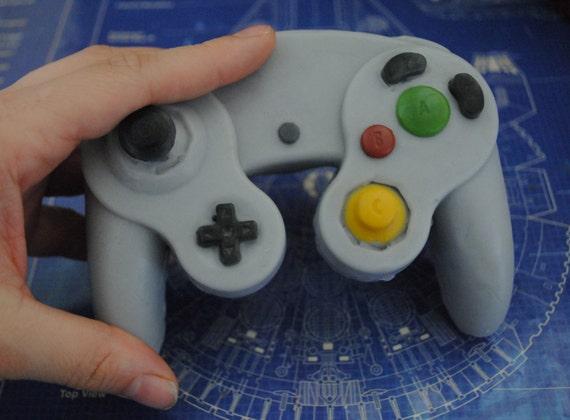 3d Gamecube Controller Parody Controller Handmade Parody Soap Etsy