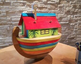 "puzzle wooden Noah's Ark ""the jungle book"""