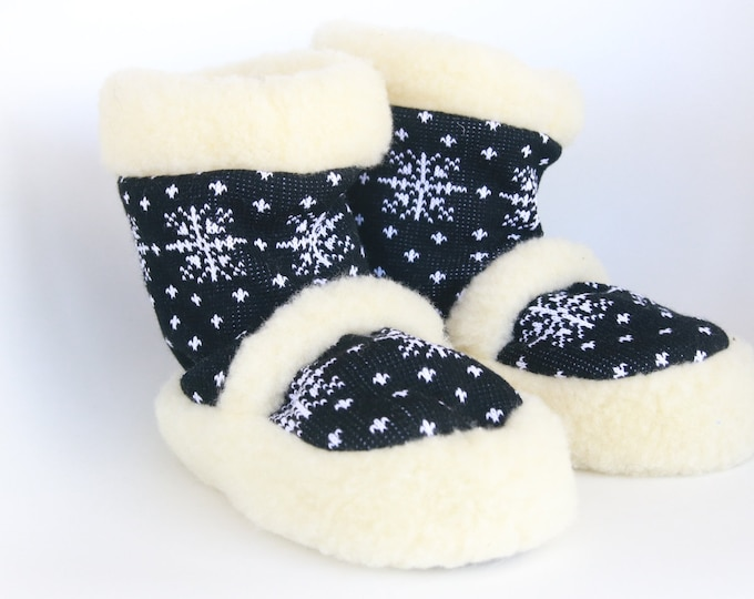 Real Wool Slippers | Sheepskin  Slippers |  Medical Slippers | Women Men Slippers | Warm slippers | Christmas Gift | Furry slippers