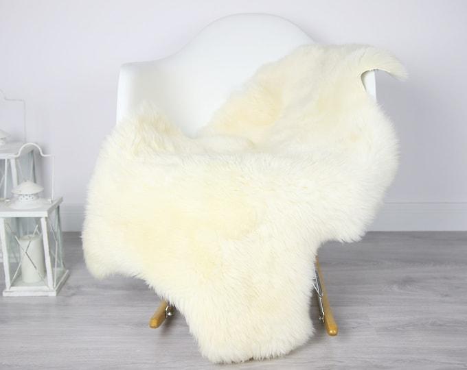 Sheepskin Rug | Real Sheepskin Rug | Shaggy Rug | Scandinavian Rug | Sheepskin Throw Ivory Sheepskin | SCANDINAVIAN DECOR | #3HER2
