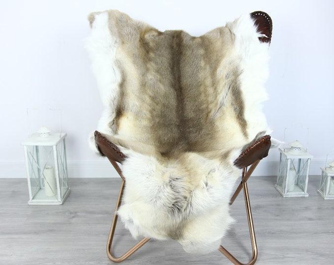 Reindeer Hide   Reindeer Rug   Reindeer Skin   Throw XXL EXTRA LARGE - Scandinavian Style #HRE18