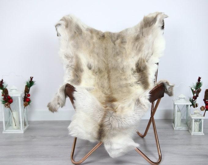 Reindeer Hide | Reindeer Rug | Reindeer Skin | Throw  - Scandinavian Style #ERE8 140x105 | Christmas Decor |