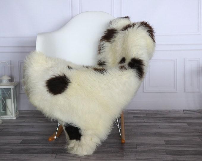 Sheepskin Rug | Real Sheepskin Rug | Shaggy Rug | Sheepskin Throw | Sheepskin Rug White Brown | Chirtmas Home Decor | #1HER40