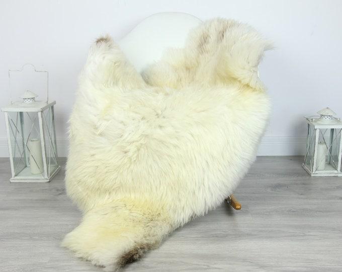 Sheepskin Rug | Huge Real Sheepskin Rug | Shaggy Rug | Chair Cover | XXL Sheepskin Throw | Ivory Brown Sheepskin | Home Decor | #PRYMHER11