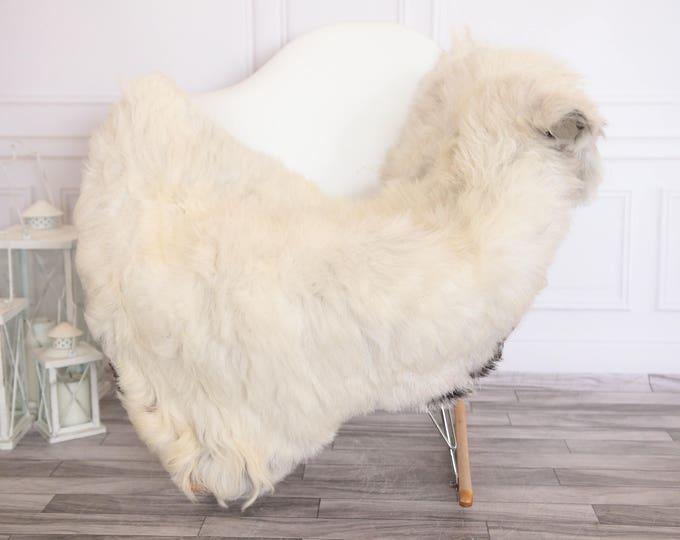 Organic Sheepskin Rug, Real Sheepskin Rug, Gute Sheepskin,Ivory Sheepskin Rug #GUTEFEB12