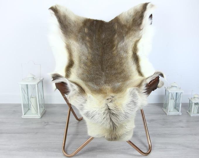 Reindeer Hide   Reindeer Rug   Reindeer Skin   Throw XXL EXTRA LARGE - Scandinavian Style #HRE17