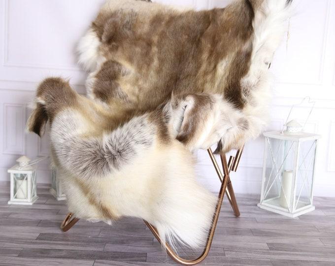 Reindeer Hide | Reindeer Rug | Reindeer Skin | Throw Large  - XXL EXTRA LARGE  Scandinavian Style #BRE2