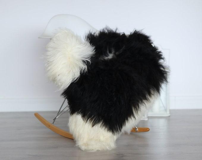 Real Icelandic Sheepskin Rug Scandinavian Decor Sofa Sheepskin throw Chair Cover Natural Sheep Skin Rugs White Blanket Fur Rug #4isl24