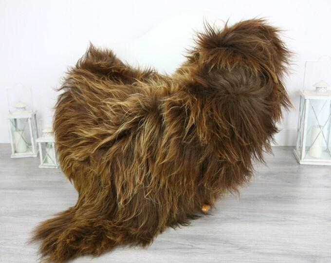 Icelandic Sheepskin | Real Sheepskin Rug | | Large Sheepskin Rug Blonde | Fur Rug | Homedecor | Sheepskin Throw | Long fur #colisl4