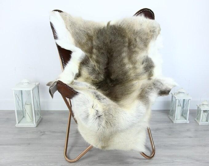 Reindeer Hide   Reindeer Rug   Reindeer Skin   Throw XXL EXTRA LARGE - Scandinavian Style #HRE16