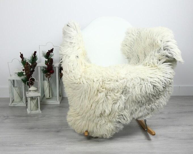 Organic Sheepskin Rug, Real Sheepskin Rug, Curly Sheepskin, Gray Beige Sheepskin Rug Christmas Home #CURLGUT23