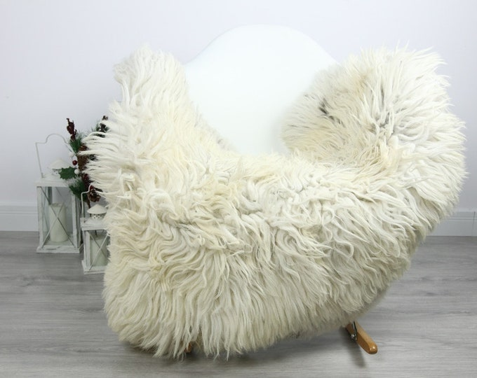 Organic Sheepskin Rug, Real Sheepskin Rug, Curly Sheepskin, Gray Beige Sheepskin Rug Christmas Home #CURLGUT17