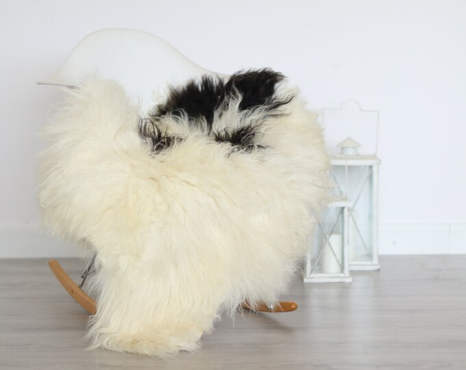Real Icelandic Sheepskin Rug Scandinavian Decor Sofa Sheepskin throw Chair Cover Natural Sheep Skin Rugs Ivory Blanket Fur Rug #4isl11