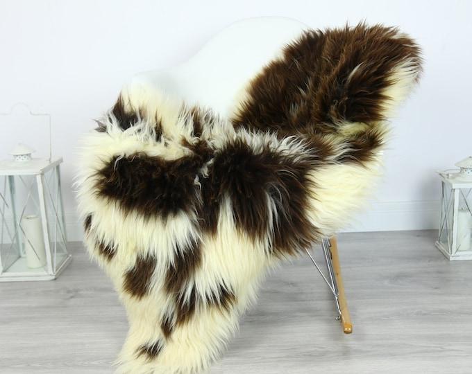 Sheepskin Rug | Huge Real Sheepskin Rug | Shaggy Rug | Chair Cover | XXL Sheepskin Throw | Beige Brown Sheepskin | Home Decor | #PRYMHER6
