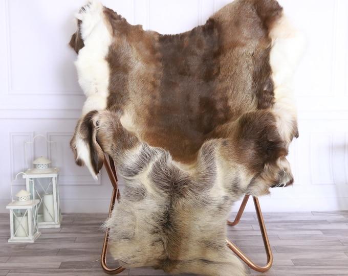 Reindeer Hide | Reindeer Rug | Reindeer Skin | Throw XXXL GIANT - Scandinavian Style #FRE18