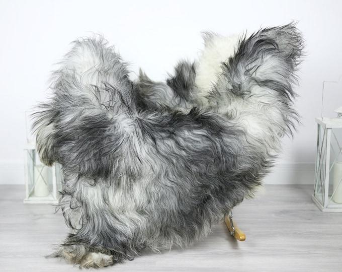 Icelandic Sheepskin   Real Sheepskin Rug   Sheepskin Rug Gray   Fur Rug   Homedecor #3Isl9