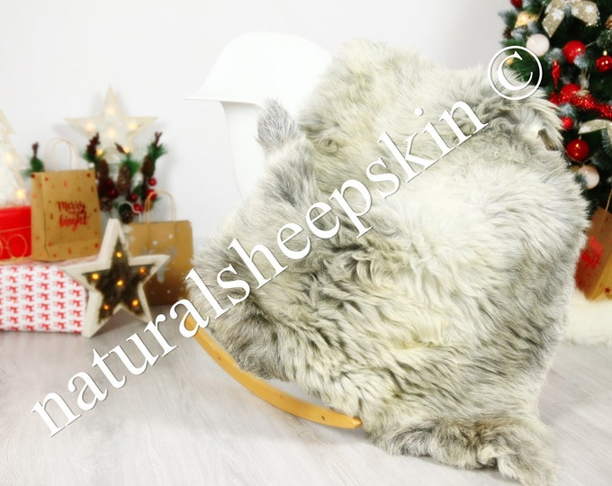 Organic Sheepskin Rug, Real Sheepskin Rug, Gute Sheepskin, Brown Sheepskin Rug Christmas Home #GUTCHRIS5