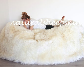 Marvelous Giant Bean Bag Etsy Inzonedesignstudio Interior Chair Design Inzonedesignstudiocom