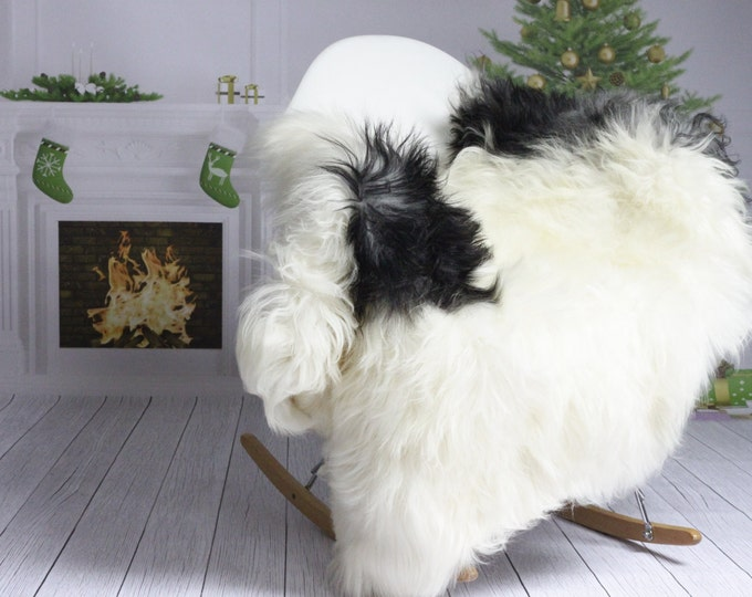 Icelandic Sheepskin | Real Sheepskin Rug | Christmas Home | White Sheepskin | Christmas Decor | XXL EXTRA LARGE  | #Islzim59