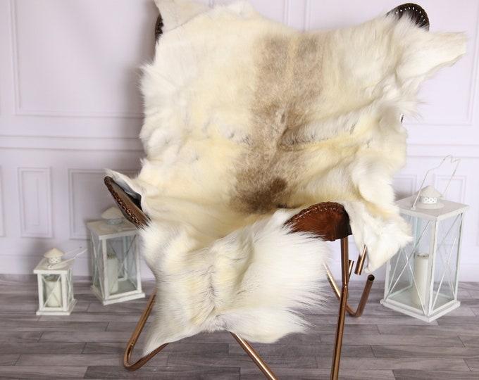 Reindeer Hide | Reindeer Rug | Reindeer Skin | Throw Large  - Scandinavian Style #BRE10