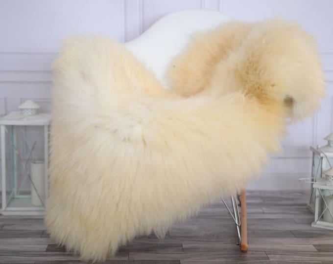 Sheepskin Rug | Real Sheepskin Rug | Shaggy Rug | Scandinavian Rug | Sheepskin Throw | Ivory Sheepskin | CHRISTMAS DECOR | #DECHER16