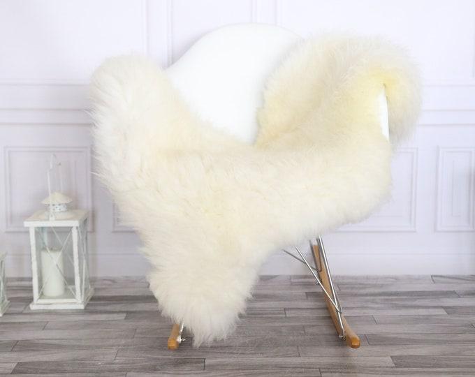 Sheepskin Rug | Real Sheepskin Rug | Shaggy Rug | Scandinavian Rug | | SCANDINAVIAN DECOR | ivory Sheepskin  #MIHER2