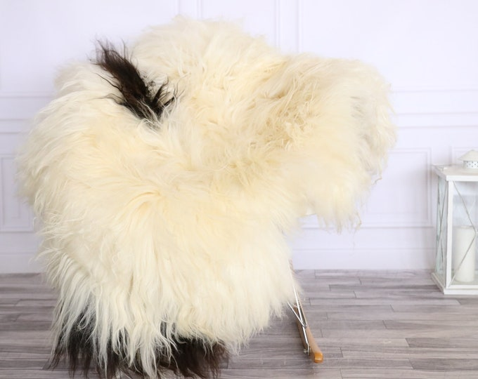 Icelandic Sheepskin | Real Sheepskin Rug | CHRISTMAS DECOR | Sheepskin Rug Beige Brown | Fur Rug | Homedecor #LISISL31