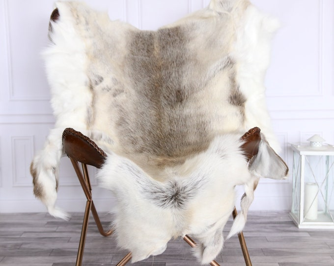 Reindeer Hide | Reindeer Rug | Reindeer Skin | Scandinavian Style CHRISTMAS DECOR  #CRE1