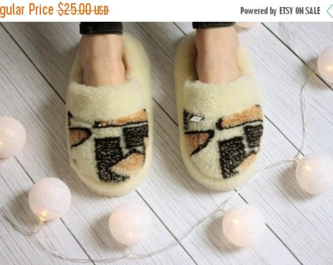 Handmade Sheepskin Lambskin Slippers | 100% real WOOL Medical Slippers | Women's Slippers | Men's Slippers | Warm slippers |