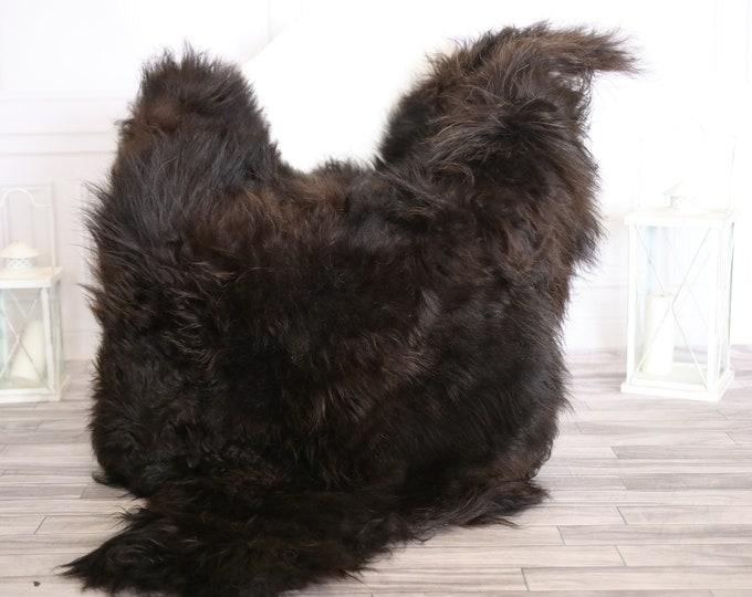 Icelandic Sheepskin | Real Sheepskin Rug |  Large Sheepskin Rug Brown | Fur Rug | Homedecor #APRISl4