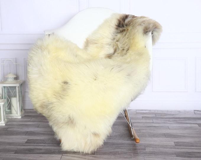 Sheepskin Rug | Real Sheepskin Rug | Shaggy Rug | Sheepskin Throw | Sheepskin Rug Beige Brown | Chirtmas Home Decor | #1HER55