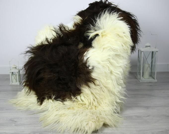 Icelandic Sheepskin   Real Sheepskin Rug   Sheepskin Rug Beige Brown   Fur Rug   Homedecor #3Isl4