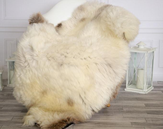 Sheepskin Rug | Real Sheepskin Rug | Shaggy Rug | Chair Cover | Sheepskin Throw | Beige Sheepskin | Home Decor | #HERMAJ58