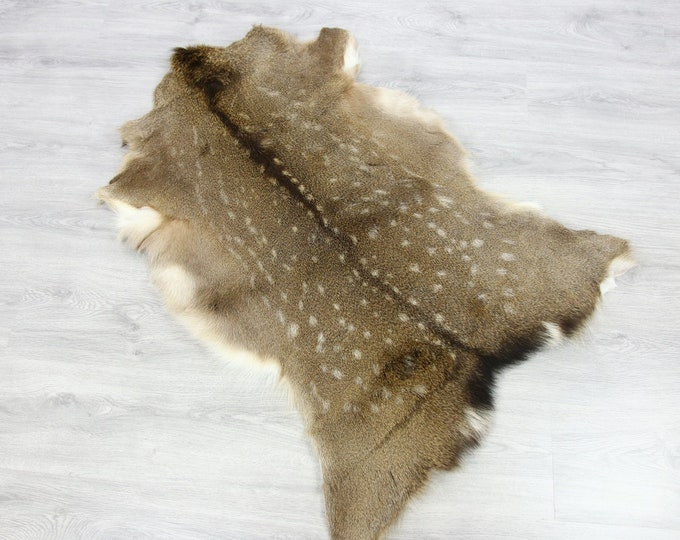 Deer Hide | Deer Rug | Deer Skin | Throw L  Large - Scandinavian Style | Home Decor | #SAR3
