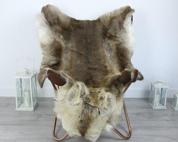 Reindeer Hide   Reindeer Rug   Reindeer Skin   Throw XXL EXTRA LARGE - Scandinavian Style #HRE21