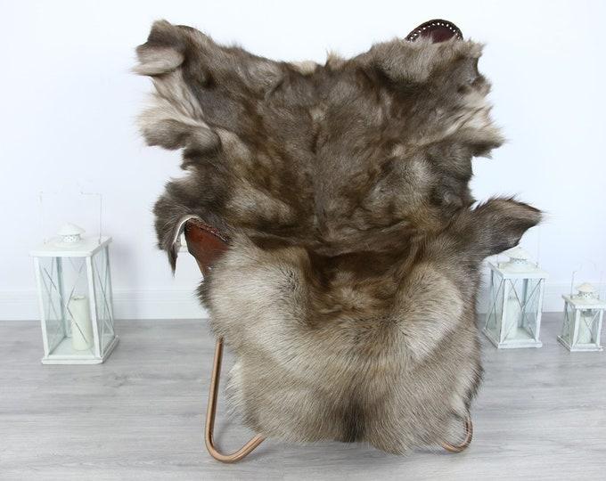 Reindeer Hide   Reindeer Rug   Reindeer Skin   Throw XXL EXTRA LARGE - Scandinavian Style #HRE13
