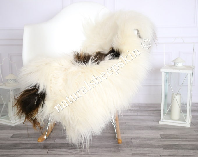 Icelandic Sheepskin | Real Sheepskin Rug | Sheepskin Rug Ivory Brown | Fur Rug | Homedecor #MAYISL2