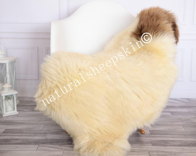 Sheepskin Rug | Real Sheepskin Rug | Shaggy Rug | Scandinavian Rug | | SCANDINAVIAN DECOR | Beige Sheepskin  #FEBHER17