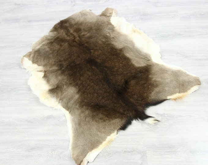 Deer Hide | Deer Rug | Deer Skin | Throw L  Large - Scandinavian Style | Home Decor | #SAR6
