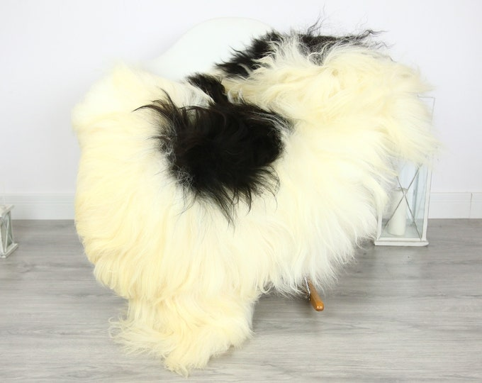 Icelandic Sheepskin | Real Sheepskin Rug | | Large Sheepskin Rug Blonde | Fur Rug | Homedecor | Sheepskin Throw | Long fur #colisl19