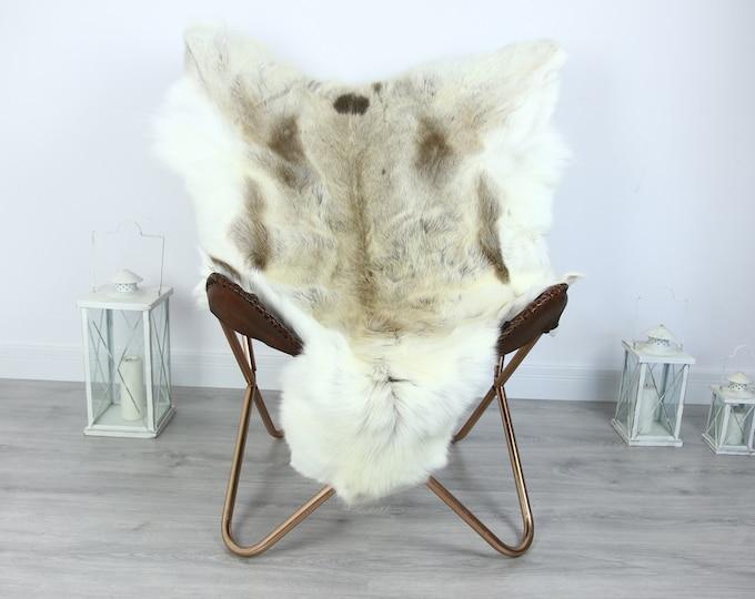 Reindeer Hide   Reindeer Rug   Reindeer Skin   Throw XXL EXTRA LARGE - Scandinavian Style #HRE22