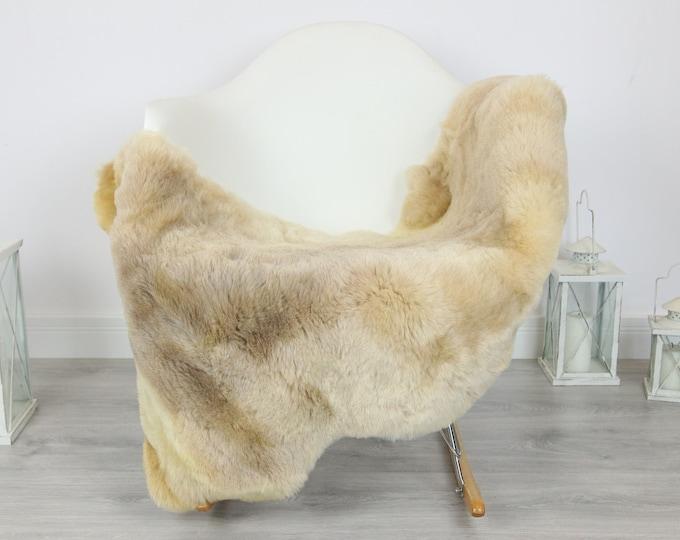 Sheepskin Rug | Real Sheepskin Rug | Shaggy Rug | Scandinavian Rug | Sheepskin Throw Beige Sheepskin | SCANDINAVIAN DECOR | #5HER28
