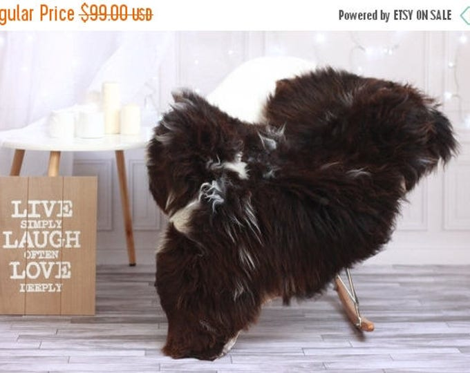 ON SALE Fur Rug |Sheepskin | Sheepskin Rug | Real Sheepskin Rug | Shaggy Rug | Chair Cover | Area Rug | Sheepskin Throw | #HERSTY54