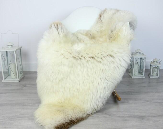 Sheepskin Rug | Huge Real Sheepskin Rug | Shaggy Rug | Chair Cover | XXL Sheepskin Throw | Beige Brown Sheepskin | Home Decor | #PRYMHER1
