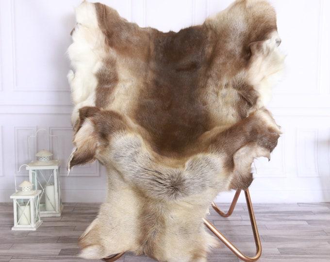 Reindeer Hide | Reindeer Rug | Reindeer Skin | Throw XXXL GIANT - Scandinavian Style #FRE3
