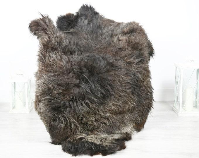 Icelandic Sheepskin   Real Sheepskin Rug   Sheepskin Rug Brown   Fur Rug   Homedecor #3Isl23