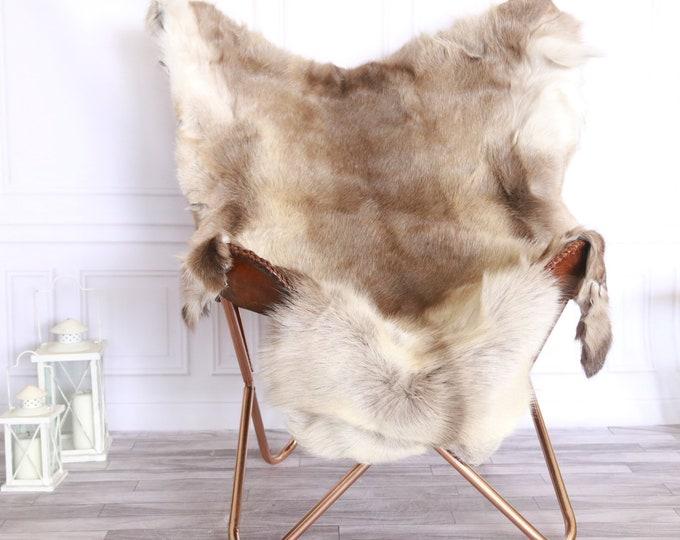 Reindeer Hide | Reindeer Rug | Reindeer Skin | Throw XL  LARGE - Scandinavian Style #FRE5