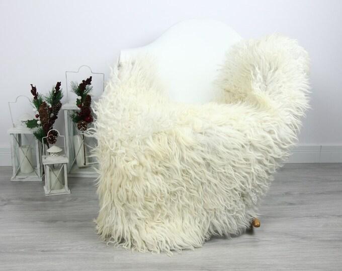 Organic Sheepskin Rug, Real Sheepskin Rug, Curly Sheepskin, Gray Beige Sheepskin Rug Christmas Home #CURLGUT21