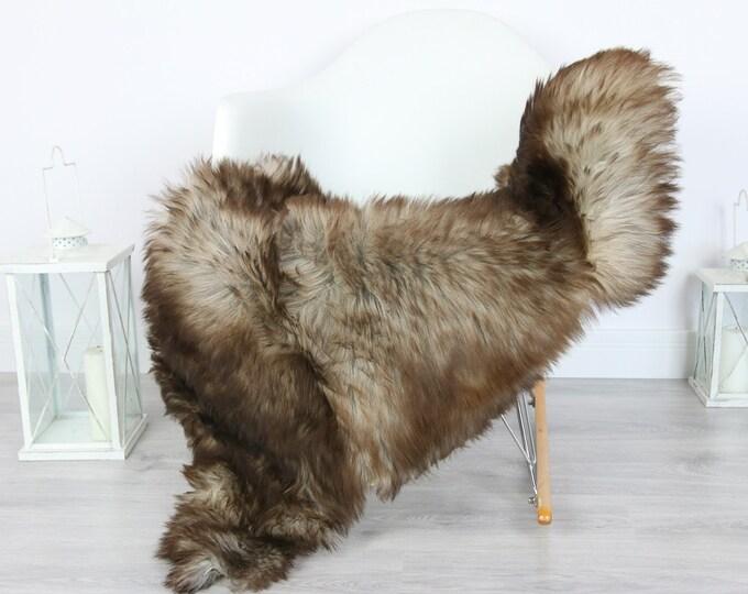 Sheepskin Rug   Real Sheepskin Rug   Shaggy Rug   Scandinavian Rug   Sheepskin Throw Brown Sheepskin   SCANDINAVIAN DECOR   #5HER7