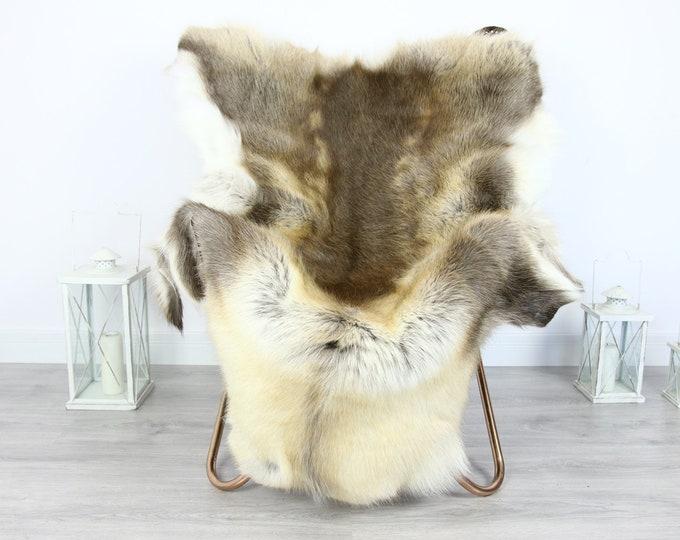 Reindeer Hide | Reindeer Rug | Reindeer Skin | Throw XXL EXTRA LARGE - Scandinavian Style #HRE7